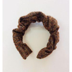 Brown Tweed Hairband